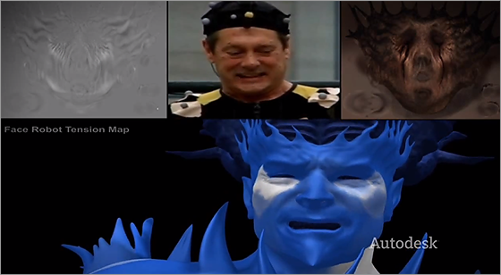 Blur studio Facial Animation Pipeline