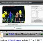 キネクトを使ったフリーのモーションキャプチャーソフト『iPi Studio』