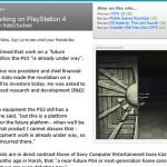 Sony 『PlayStation 4』が開発進行中