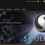 GOZ機能も追加された『Sculptris』がリリース