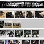 映画『トランスフォーマー3』の大量のコンセプトアートが見つかる