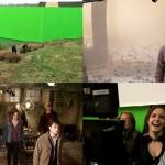 結構シュール。30分に及ぶ『ハリー・ポッターと死の秘宝 PART2』の撮影風景