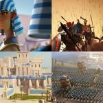 他国に攻撃された国が文明を発展させ反撃へ。ゲーム『Age of Empires Online』のムービー