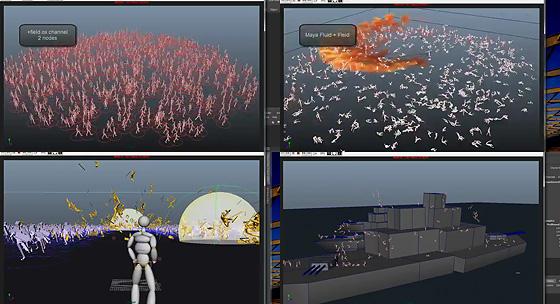 無料公開中!Mayaの群衆シミュレーションプラグイン『Miarmy』