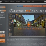 DynaMesh早く触りたい!『Zbrush4 R2』リリース開始!そして開発がZbrush5についても言及