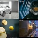 『Vray DemoReel 2011』VFX、自動車、建築、広告の4つの部門に分けて収録。