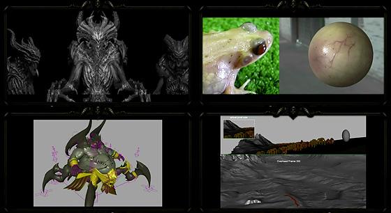 1時間超え!『Diablo III』のシネマティックトレーラーのメイキング動画