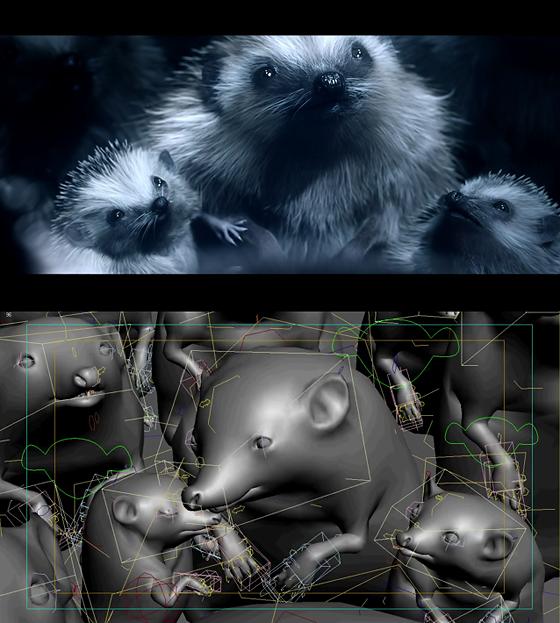 ウホ!きゃわえぇ!ハリネズミ。CM『VOLKSWAGEN Hedgehog』とメイキング。