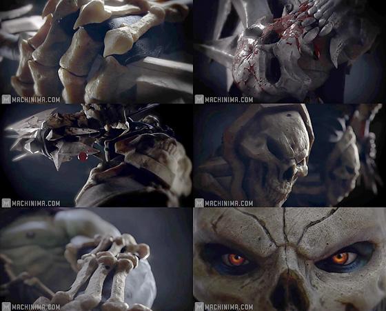 骨のSSSがいい感じ!『Darksiders 2 Exclusive Death Teaser Trailer』