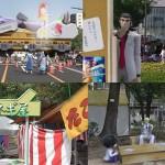 初音ミクとかカイジとか。『【実写合成】フラワーフェスティバルに行こう!~広島ふれあい街歩き2』