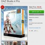 急いでダウンロードすべし!キャラクター作成ツール『DAZ Studio 4 Pro』が3月31日まで無料