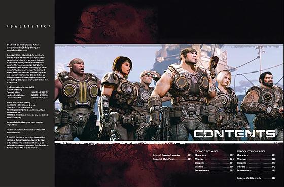ゲーム『Gears of War 3』の設定資料集(洋書)が2012年9月11日発売