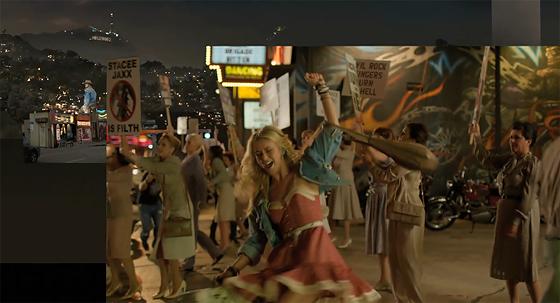 デジタルドメインによる、映画『Rock of Ages』の背景差し替えメイキング