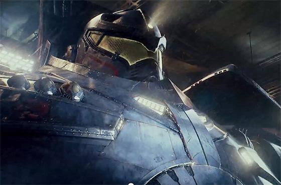 超巨大ロボvs超巨大怪獣映画『Pacific Rim』予告編・・・等