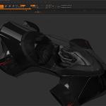 Zbrush4R5の新機能使って乗り物を作るムービーが公開される。