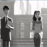 Disneyによる短編CG作品『Paperman』