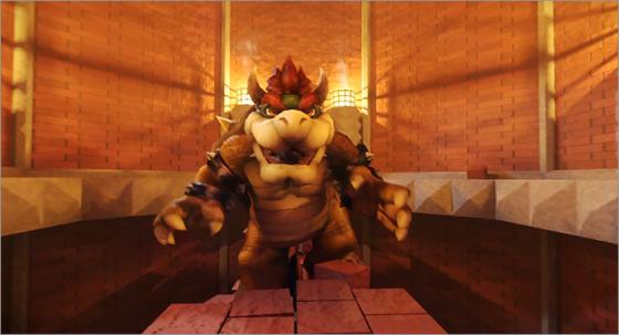 【酔い止め用意】スーパーマリオ3をマリオ視点で3D化したCG作品