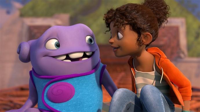 ドリームワークス・アニメーションの新作3DCG映画『HOME』予告編。2015年公開予定。
