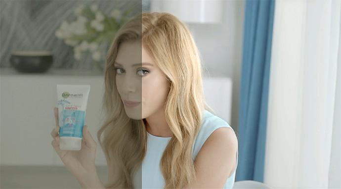 CM、PV等の映像に使われる技法。カラーグレーディングとレタッチを映像に施していくメイキング映像