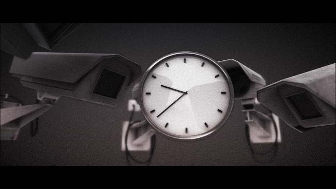 なるほど、表現が分かり易い。『ストレス』をテーマにした3DCG作品