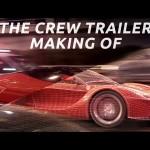 CGメイキング動画公開!レースゲーム『The Crew』のローンチトレーラー
