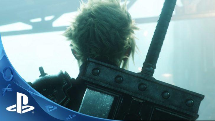 【E3 2015】PS4『ファイナルファンタジー7』トレーラー公開!