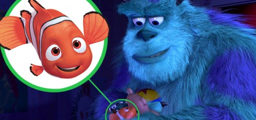 モンスターズインクにニモが!知ってた?Pixarの映画作品には色んな物が相互出演してた