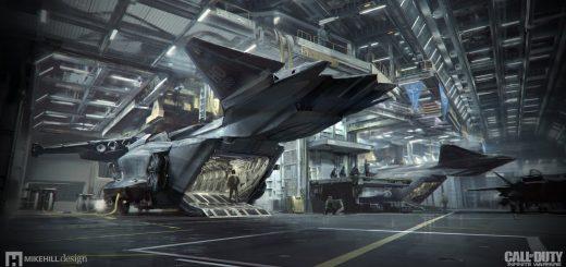 『コール オブ デューティ インフィニット・ウォーフェア』に登場する背景、戦闘機等のCGメイキング動画