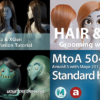 MayaのXGenを使った髪の毛の作成方法。髪の毛のモデリング、シミュレーション、レンダ