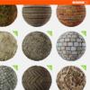 50以上のPBRテクスチャーが無料ダウンロード出来るサイト『Texture Haven』