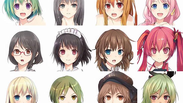 AIが描く。女性イラストキャラクターを生成するサービス『Crypko』が凄い。