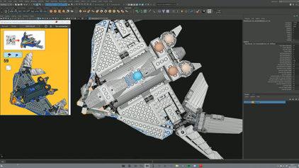 再現度高い!MayaでCGのレゴブロックを作れる低価格ツール『BrickIt』